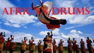 Rhythm of African drums.ритм африканских барабанов