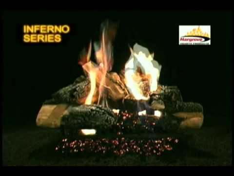 Hargrove Inferno Series Vented Gas Logs