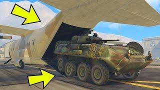 "GTA 5 ""GUNRUNNING"" DLC - NEW HIDDEN MILITARY VEHICLES, WEAPONS & MORE! (GTA 5 Military DLC)"