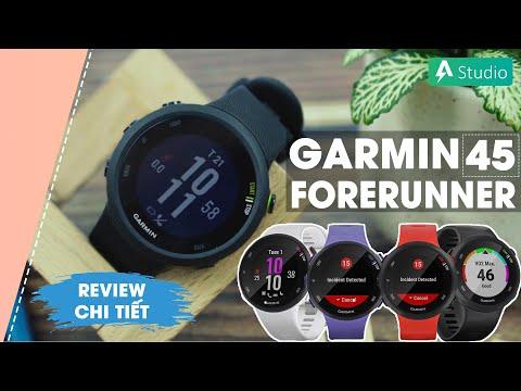 Garmin Forerunner 45| Chiếc đồng hồ GPS chạy bộ giá rẻ của Garmin