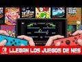llegan Los Juegos De Nes A Nintendo Switch