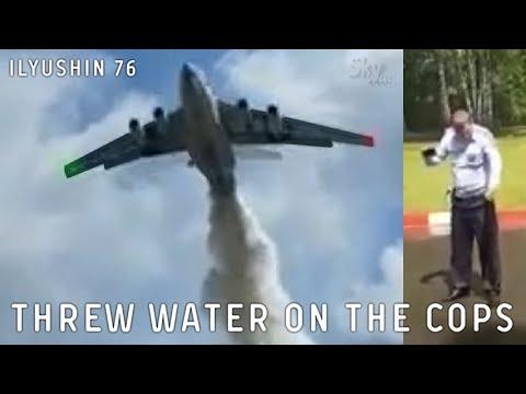 Как Ил-76 намочил гаишников