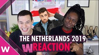 "The Netherlands | Eurovision 2019 Reaction Video | Duncan Laurence ""Arcade"""