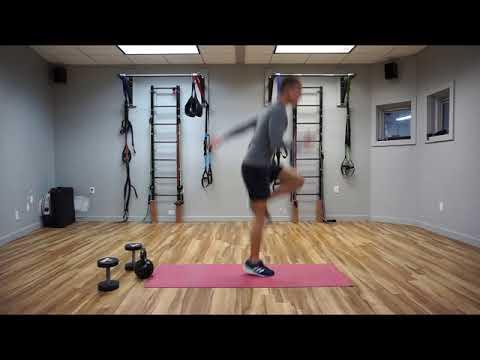 Single Leg Deadlift Jump