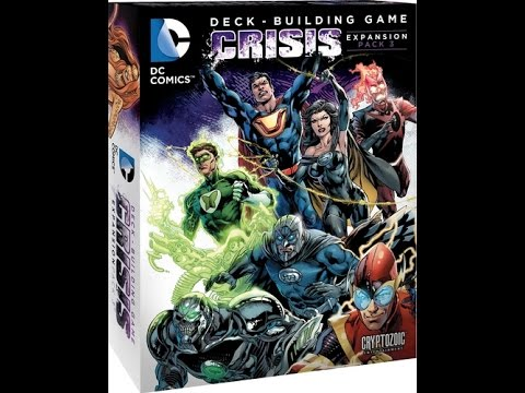 DC Deck-Building Game: Crisis 3 - A Forensic Gameology Review