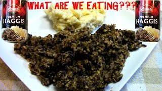 Scottish Haggis IN A CAN!! - WHAT ARE WE EATING???...