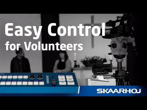 Small Church uses SKAARHOJ Live Fly to ease operations for their volunteers
