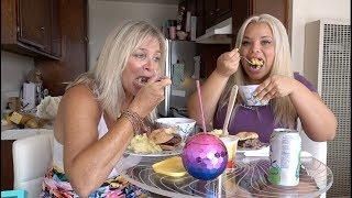 COOKING + EATING WITH MY MOM (MY FAV HOME COOKED MEAL)