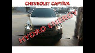Chevrolet Captiva hidrojen yakıt tasarruf sistem montajı