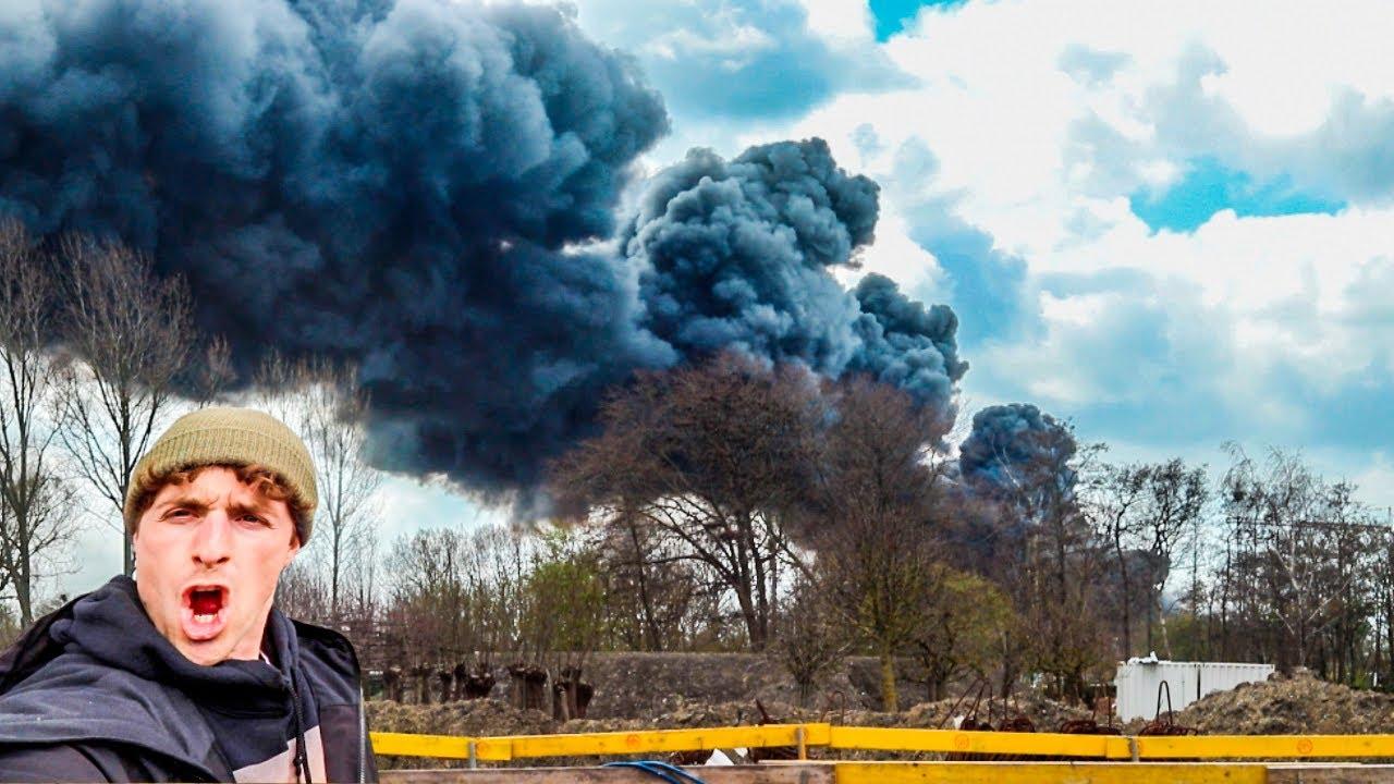Insane Grote Brand In Het Walletje!