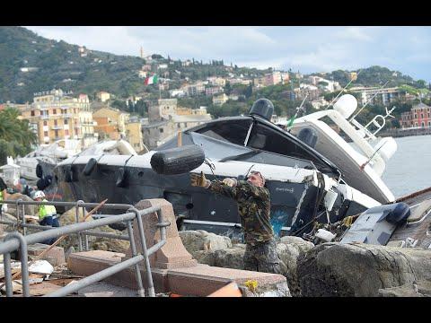 Ιταλία: Δέκα νεκροί από το κύμα κακοκαιρίας