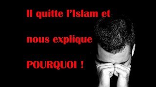 Un musulman quitte l
