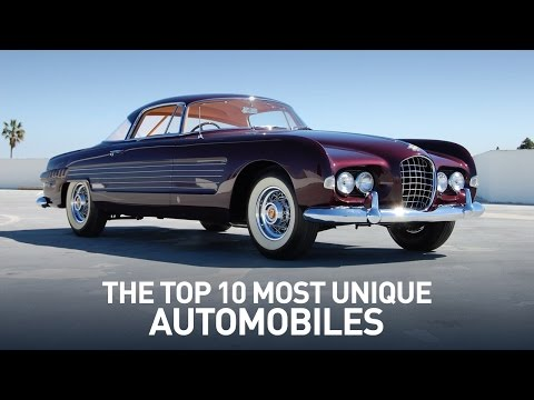 Top 10 Most Unique Cars And Automobiles Ever