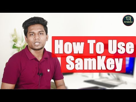 How To Use SamKEY Tools For Unlock Samsung Phone   J250F J510F  A520F A720F S8 S8+ Unlock Solution