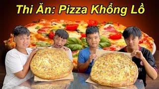 Người Cuối Cùng Còn Ăn Pizza Khổng Lồ Với Các Thử Thách Sẽ Chiến Thắng   TQ97