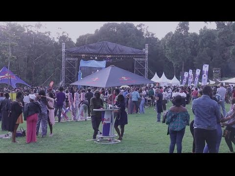 The Ubunifu Space at Blankets & Wine Festival 2018
