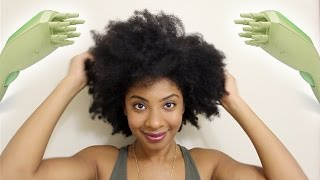 Stretching & Restyling Natural Hair with Q-Redew Steam!