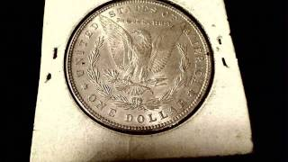 Old Silver Coins - Dollars and 50 Cent Pieces