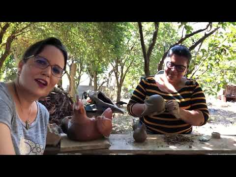 """Conheça a magia dos elementos água e terra, habemus cerâmica - <font color=""""red"""">assista relato </font>"""
