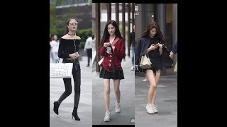 P14 Street Style Thời Trang Cực Chất đường phố của giới trẻ Trung Quốc Street Style In China