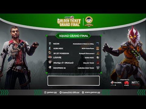 GAMEZ GOLDEN TICKET SQUAD | GRAND FINAL