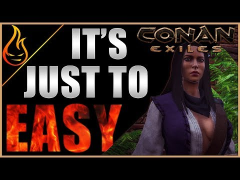 Rebuilding After The Wipe Conan Exiles Server Play Ep4