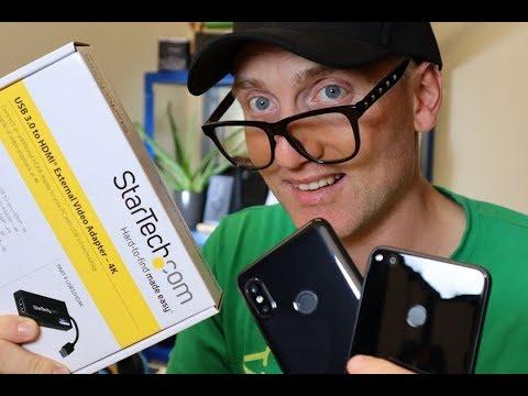 Displaylink ovvero collegamento audio video a TV per tutti gli smartphone ed i tablet OTG