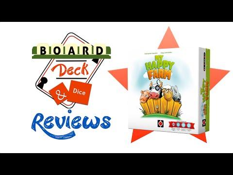 Board, Deck & Dice Review #6 - My Happy Farm