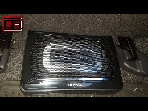 Kenwood KSC-SW11 Compact Powered Under Seat Subwoofer Review (Scion tC2 / tC2.5)