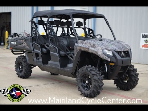 New 2017 Arctic Cat Hdx 700 Crew Xt Utility Vehicles In La