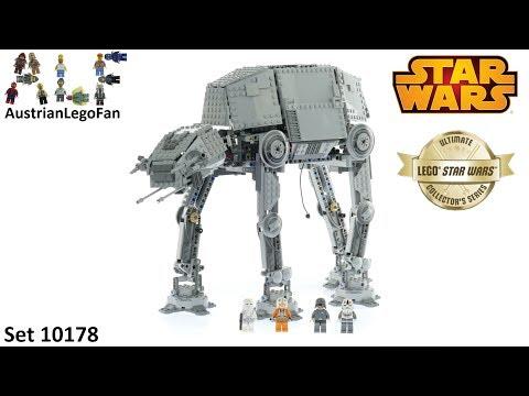 Vidéo LEGO Star Wars 10178 : Motorized Walking AT-AT