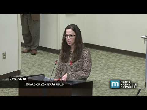 04/04/19 Zoning Appeals Board