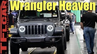This Is How Every New Jeep Wrangler is Made: Inside The Toledo North JL Factory!