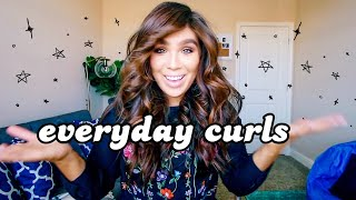 My Everyday Simple Curls | 2019