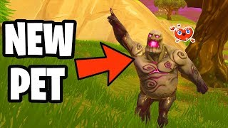 Trying To MAKE FRIENDS With a ZOMBIE in Fortnite..