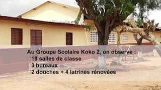 Réhabilitation de 5 écoles primaires par la Mairie de Bouaké