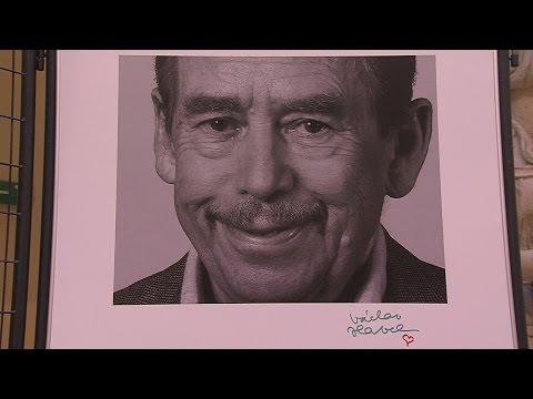 Václav Havel fotókiállitás - video preview image
