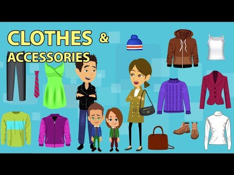 Clothes & Accessories Vocabulary