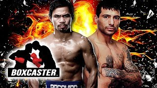 Manny Pacquiao vs. Lucas Matthysse Championship Preview   Boxing Highlights   BOXCASTER