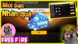 (Free Fire) Nhận Ngay 9.999 Kim Cương Từ Event Kêu Gọi Bạn Bè? | StarBoyVN