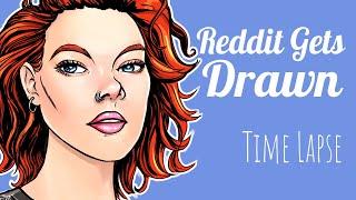 Reddit Gets Drawn – Digital Art Time Lapse 004