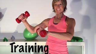 30 min. Hantel-Training mit Gabi Fastner