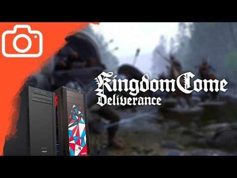 TEST VÝKONU - Kingdom Come: Deliverance na MEGA Gamer 8G240/MČR 2018 Elite-Ti