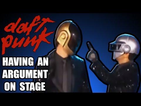 Daft Punk a hádka na pódiu