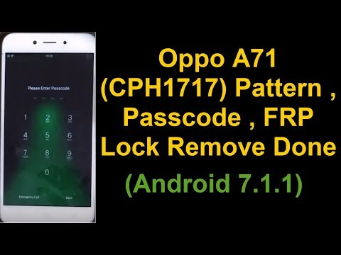 Oppo A71 Edl Mode