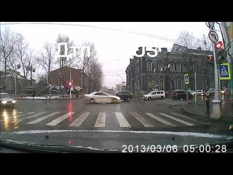 Пьяная пенсионерка за рулем Toyota Passo устроила ДТП в Иркутске
