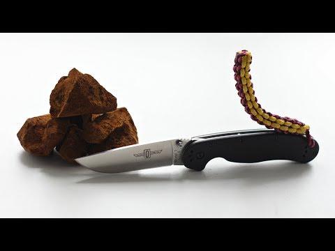 Нож Ontario RAT 1 vs. Гриб ЧАГА. Игорь Лесник рассказывает.
