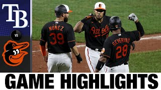 Anthony Santander Powers Os To 6-3 Win | Rays-Orioles Game Highlights 7/31/20