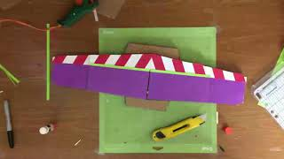 Buzz Lightyear Paper Craft Wings