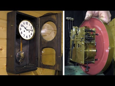 Восстановление и настройка старых часов с боем | Clock tuner